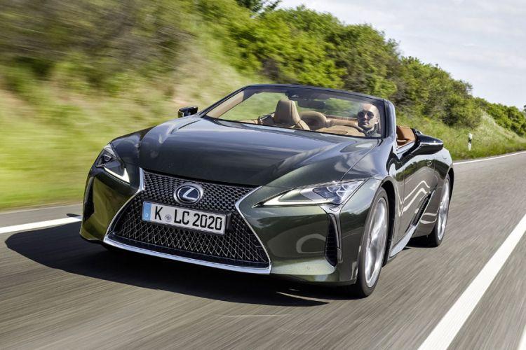 News: Lexus LC Cabriolet verspricht besonderes Freiluftvergnügen