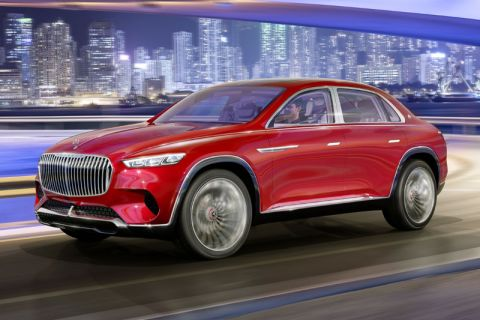 E-Mobil: Ultimatives Luxus-Elektro-Vehicle Vision Mercedes-Maybach Ultimate Luxury