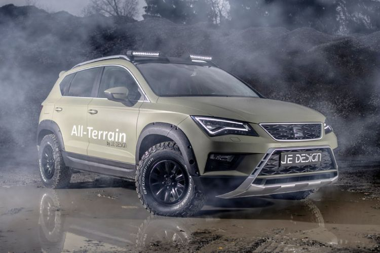 "Tuning: Je Design ""All Terrain"" Offroad-Outfit für den Seat Ateca"