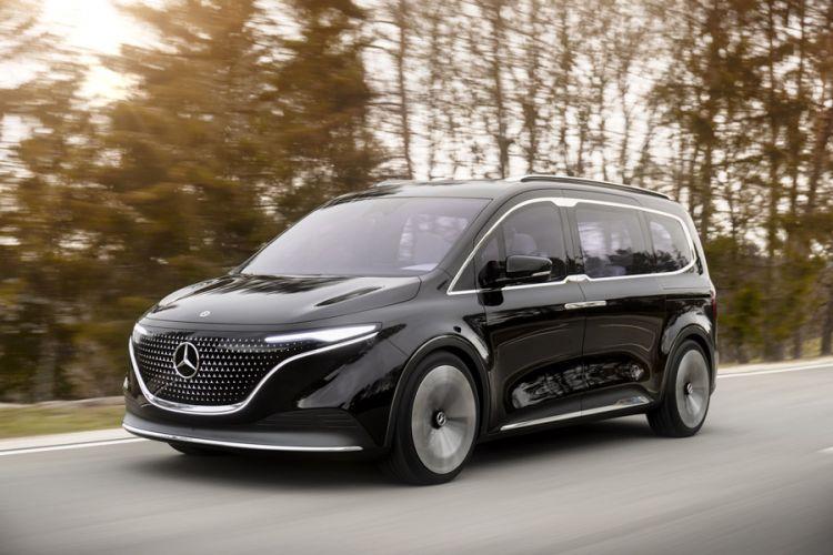 News: Mercedes Small-Van Concept EQT ist Vorbote des neuen T-Modells