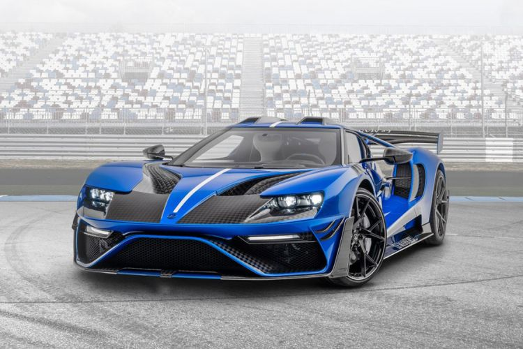 "Tuning: Ford GT ""Le mansory"" mit Voll-Carbon-Karosserie von Mansory"