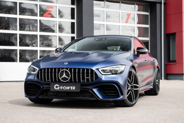 Tuning: Viertüriges G-Power GP 63 Bi-Turbo Coupé auf AMG-Basis