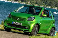 E-Mobil: Elektrisches Open-Air Vergnügen mit dem smart fortwo electric drive cabrio