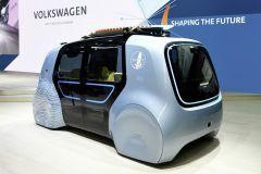 E-Mobil: Volkswagen stellt SEDRIC Active auf der CEBIT 2018 in Hannover vor