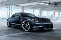 Tuning: Techart 22 Zoll Schmiederad Formula VI für Porsche Taycan
