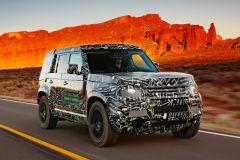 Pressemeldung Land Rover - Neue Defender Generation auf letzten Testkilometern