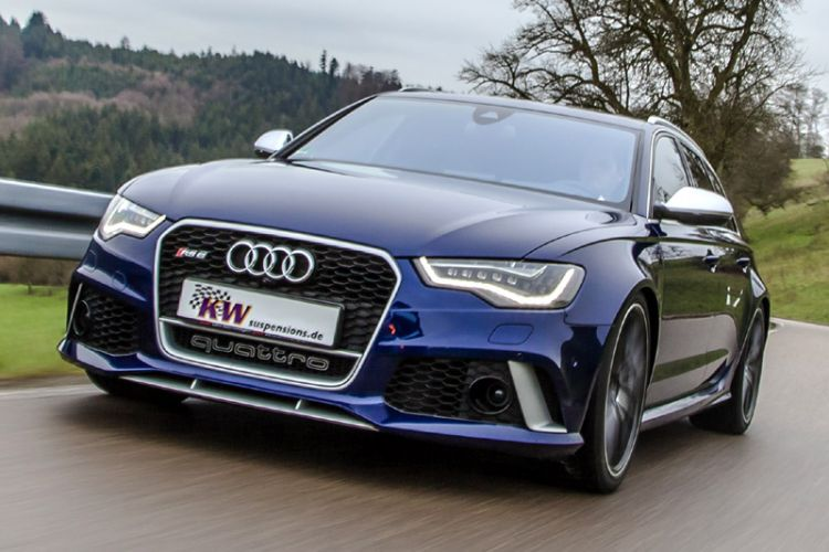 Tuning: KW Suspensions Gewindefahrwerk Variante 4 für Audi RS6 Avant