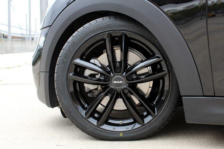 Test: MAK Oxford 17 Zoll Alurad mit Toyo Proxes TR1 für MINI Cooper S F56