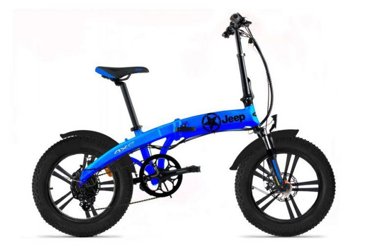 Zweirad: Faltbares Elektro-Bike für den Kofferraum von Jeep