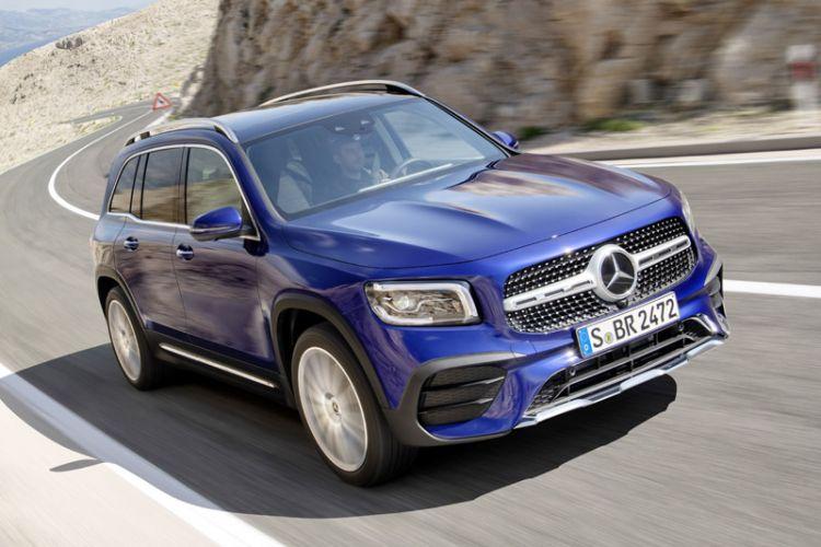 News: Mercedes Kompakt-SUV GLB mit Offroad-Design und sieben Sitzen