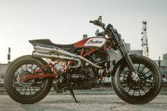 Motorrad: Indian Scout FTR 1200 Custom Show-Bike