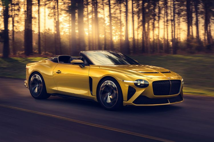 News: Streng limitierter Bentley Bacalar von Karosseriebauer Mulliner