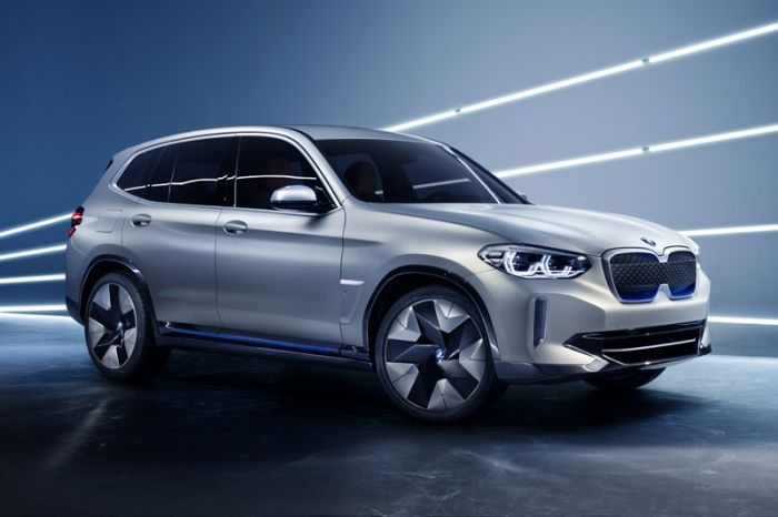 E-Mobil: BMW stellt mit dem Concept iX3 erstes SAV der Marke mit E-Antrieb vor