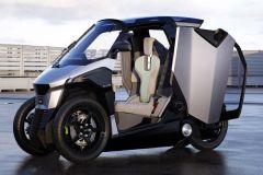 E-Mobil: L5e-Hybrid-Leichtfahrzeug von PSA Peugeot für zukünftige urbane Mobilität