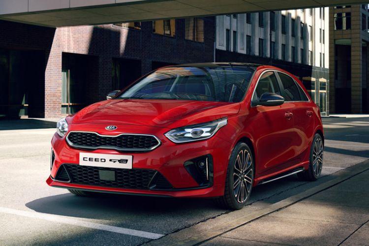News: Kia Ceed als sportliches GT Modell und mit GT Line Ausführung