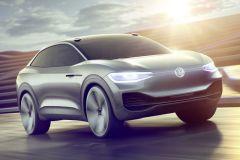 E-Mobil: VW Crossover Utility Vehicle I.D. CROZZ mit Elektroantrieb