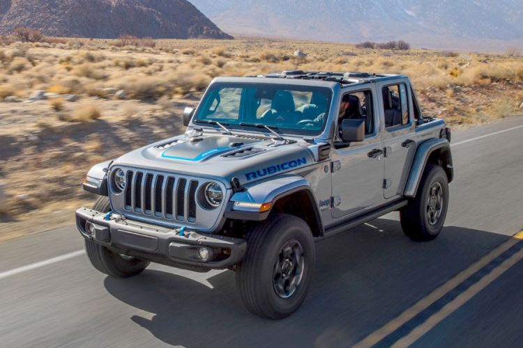 News: Jeep Wrangler 4xe Rubicon mit 375 PS starkem Plug-in-Hybrid-Antrieb