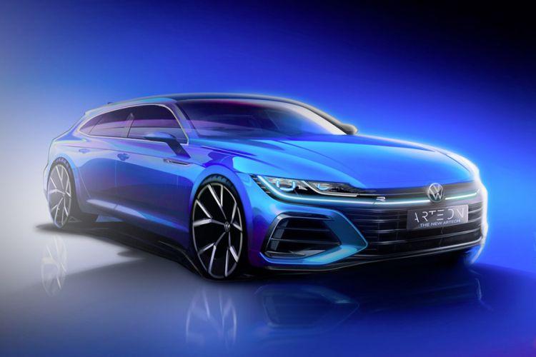 News: VW bringt neuen Arteon Gran Turismo auch als Shooting Brake