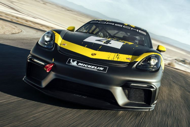 "News: Porsche 718 Cayman GT4 Clubsport als ""Trackday"" und ""Competition"""