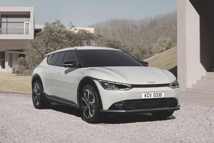 E-Mobil: Kia EV6 im Design der neuen