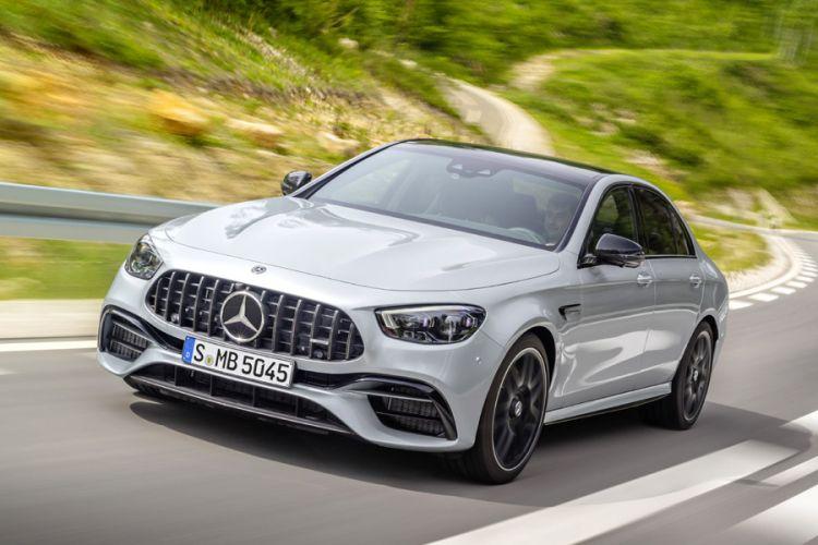 News: Mercedes-AMG E 63 4MATIC+ mit umfangreichem Designupdate