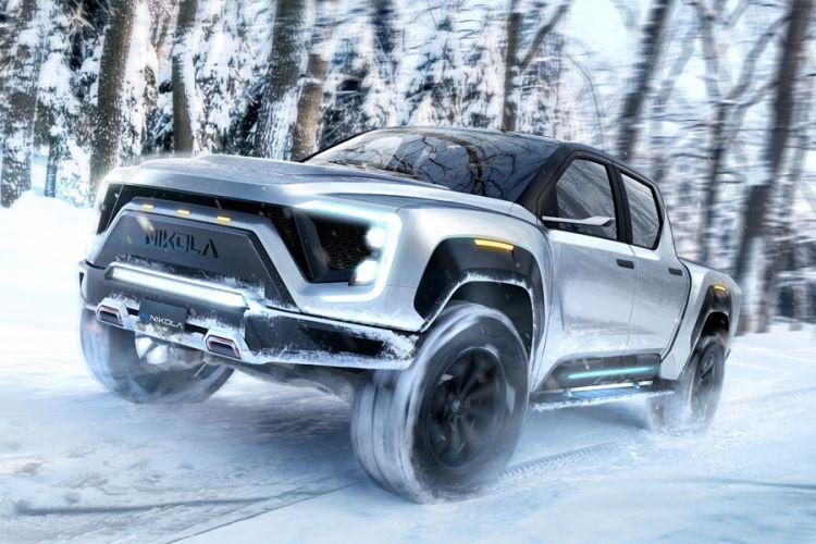 News: Elektro-Pickup Nikola Badger mit Brennstoffzellen- und Batterieantrieb