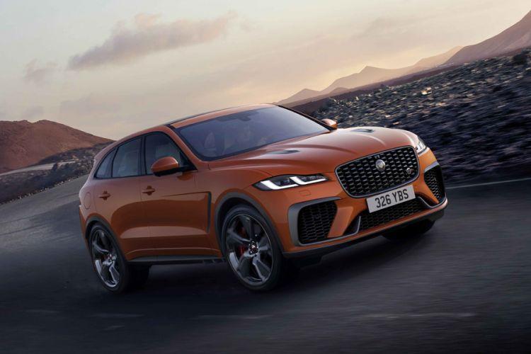 News: Jaguar F-Pace SVR erhält Update und 550 PS starken V8-Motor