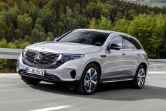 E-Mobil: Elektro-Crossover-SUV EQC von Mercedes kommt Mitte 2019