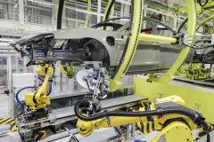 Pressemeldung Porsche - Neues innovatives Fertigungsverfahren beim Taycan