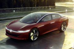 E-Mobil: Volkswagen Limousinen-Studie I.D. VIZZION soll 2022 in Serie gehen