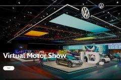 Pressemeldung Volkswagen -  Virtueller Messestand für VW Modelle