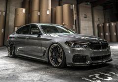 Tuning: 20 Zoll Z-Performance Deep Concave-Schmiedefelgen auf BMW 540i