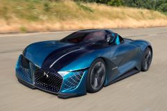 Pressemeldung DS - Ersten Testfahrten mit dem Concept Car DS X E-Tense