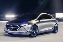 E-Mobil: Mercedes-Benz Concept EQA zeigt Kompaktklasse Elektrofahrzeug für 2019