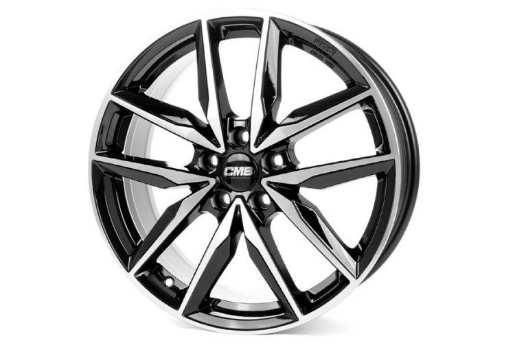 Reifen & Felgen: Zehnspeichen-Alurad CMS C28 mit ABE
