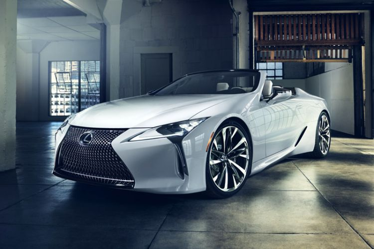 News: Lexus mit LC Cabrio Studie auf der North American International Auto Show