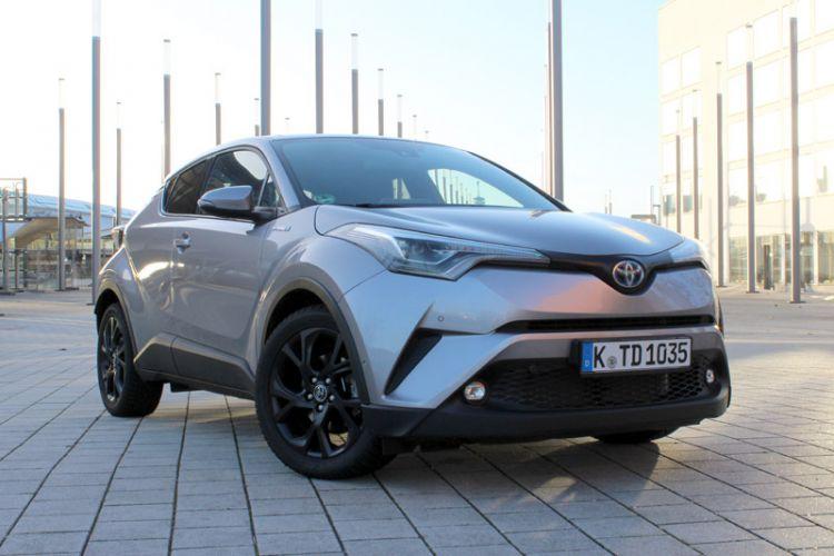 """Fahrbericht: Toyota C-HR 1,8 Hybrid 4x2 """"Lounge"""" CVT mit 122 PS Systemleistung"""