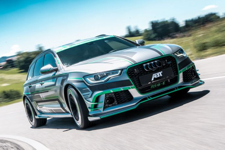Tuning: Abt Audi RS6-E mit 1.018 PS starker Verbrennungs- und E-Motor Kombination