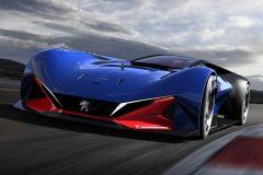 E-Mobil: Peugeot feiert mit dem L 500 R Hybrid 100 Jahre Indianapolis