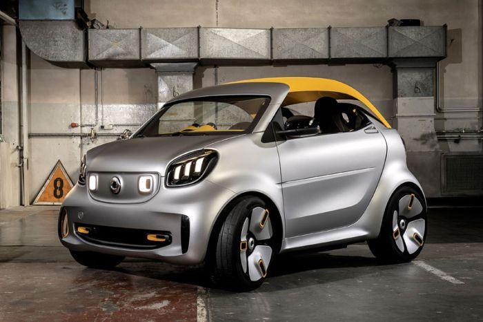 E-Mobil: smart forease+ gibt Ausblick auf emissionsfreie Modell der Marke in der Zukunft