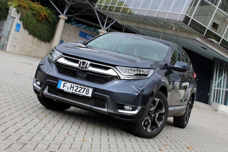 Fahrbericht: Honda CR-V 1.5 VTEC Turbobenziner mit 4WD und CVT Automatik