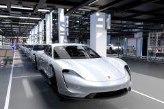 Pressemeldung Porsche - Mit dem Taycan ins elektrische Zeitalter