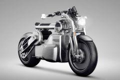 Motorrad: Curtiss Prototyp-Bike