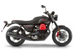 Motorrad: Limitiertes Sondermodell Moto Guzzi V7 III Carbon mit roten Akzenten