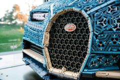 Pressemeldung Volkswagen - LEGO Technic Bugatti Chiron 1:1-Modell