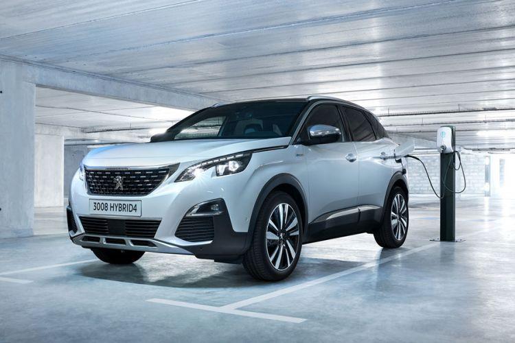 News: Peugeot Plug-In-Hybrid 3008 GT Hybrid4 mit Allradantrieb und 300 PS