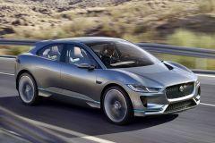 E-Mobil: Jaguar Performance-SUV I-PACE Concept Studie mit Eletroantrieb