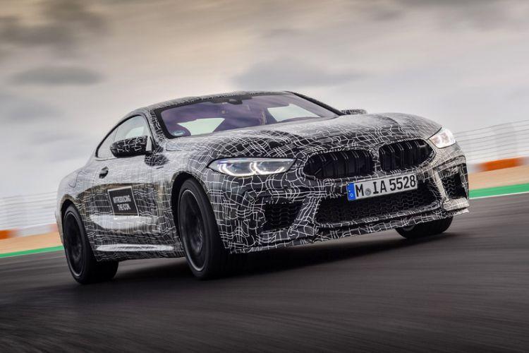 News: BMW M8 bei letzten Testfahrten auf der Grand-Prix-Rennstrecke in Estoril