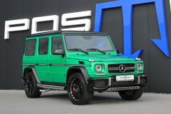 Tuning: Posaidon G 63 RS 850 mit 1200 Nm Drehmoment auf Basis des AMG G 63