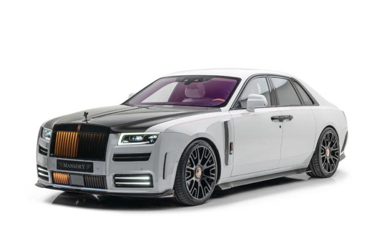 Tuning: Komplettumbau des Rolls-Royce Ghost V12 von Mansory